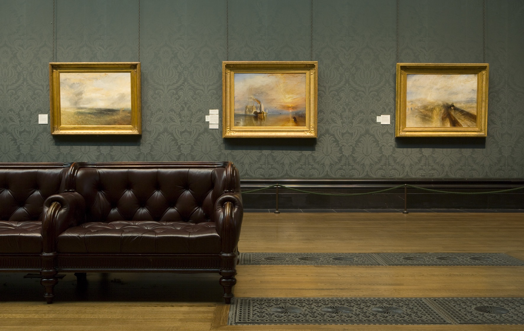 AfL April Seminar - The Turner Bequest at the National Gallery. Photograph copyright of The National Gallery, London