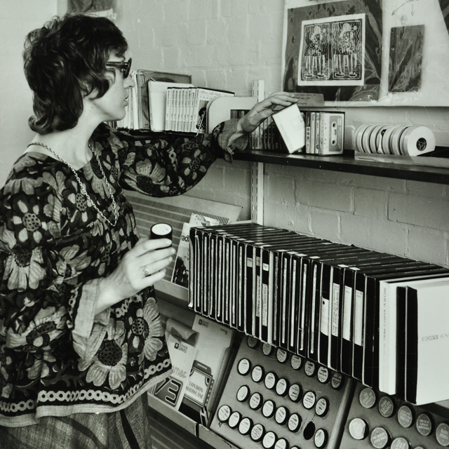 Teacher, Avondale Park Media Resources Centre, 1973